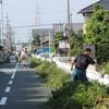 自治会活動(28)     秋の一斉草刈りと健康広場の整備