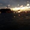 夕暮れの竹島海岸(蒲郡)