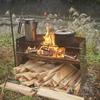 『画像豊富』焚き火料理縛りでキャンプ『姉川パーク』『ユドゥン』『キャンプ』
