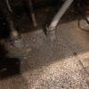 シンク下から水が溢れる現象の解消
