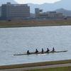 遠賀川でボートがスイスイ!