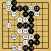 囲碁クエスト対決(9路盤・5級bot・黒番)