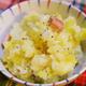 さつまいも簡単レシピ!さつまいもとベーコンの洋風炊き込みご飯