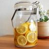 国産レモンのはちみつ砂糖漬け*保存瓶に作って自家製レモンシロップ・レモネードにします*レシピ