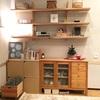 悩んだ末に造り付け家具を撤去。広くなったリビング。