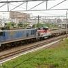 第1609列車 「 DE10 1559が無動力で付く配給列車を狙う 」