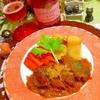 牛ほほ肉のオホホな文旦コンフィチュールクリーム煮