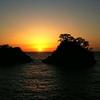 堂ヶ島の夕陽を君といつまでも