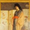 フリーア美術館  孔雀の間でホイッスラーの姫君に会える