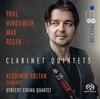 ベラルーシ出身のクラリネットの名手 ヴラディーミル・ゾルターンによるヒンデミット&レーガー:クラリネット五重奏曲