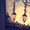 作品紹介:01 夜を照らす街灯のイヤリング/ピアス
