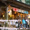 今年は雪のない雄山神社(芦峅中宮)