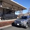 伝説の車両「上信電気鉄道デキ1形電気機関車」とテラノレグラスの2ショットを撮影に行く