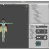 Unityで自分のキャラを動く日記…モデリングをUnityに入れてみた。