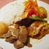 ウズベキスタン料理を食べてきた。アロヒディン八丁堀店にて。