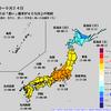 【1か月予報】向こう1か月は北海道・奄美・沖縄を除いて全国的に暑くなりそう!特に関東甲信地方では異常天候早期警戒情報が出されており、8月25日から約1週間は気温がかなり高く!