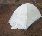 モンベルテントステラリッジ評価!テント設営は簡単?2人用の広さ重さの比較