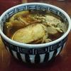 築地の「米花」で芋煮汁、煮穴子。