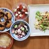 キャベツと鮭フレークのオリーブオイル炒め
