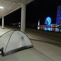 【テント】自転車旅で使っているテント紹介 ~簡単設営で最軽量&最強のテント~