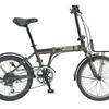 ワイルドなかっこ良さのJeepの自転車