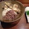 踊るうどん 梅田店 肉まいたけ天ぶっかけを食べた