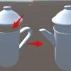 Blender 2.8 でメッシュの裏面が描画されるようにする