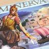 【ボードゲーム 】「ミネルウァ(MINERVA)」ファーストレビュー:Kickstarterで帰ってきたゲームマーケット大賞2015優秀作品!古代ローマを舞台に女神ミネルウァの寵愛を受けるべく、せっせと街を創るのです。