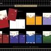 【カミオジャパン】ディズニー ツイステッドワンダーランド Story colorsシリーズ ダブルポケットクリアファイル