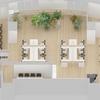 古河オフィス設計|コミュニケーションの溢れるオフィスデザイン