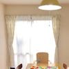 【7月の計画】キッチンの照明を変えたら部屋が明るくなりました。
