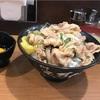 【伝説のすた丼】生姜焼き丼はみりんベースのごはん多めです