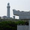 角島(2)石の鳥居・夢崎明神と角島灯台:下関市