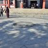 鞍馬寺の六芒星。