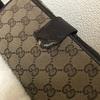グッチ GG 長財布の修理;「ペットにガジられ破片も無くなってしまいました。」   ・・・K's factory