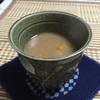 雪の降る日は乾姜入りの甘酒で