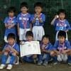 準優勝! 第21回こてはし台ガーデンフットボール大会 (幼稚園)