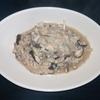 ホットクック リピ決定レシピ 調味料しょうゆだけで、きのことツナの和風リゾット(1人分)