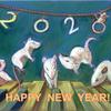 年賀状「2020 REIWA2 Mice」