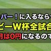 スカパー!がラグビーW杯全48試合生中継放送!再放送も予定あり!