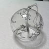 鳥獣戯画の風鈴♪ 耐熱じゃないガラスにらくやきマーカーは使えるか!?検証。