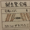 北神弓子誕生祭、会場編【4コマ漫画】