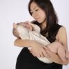 平成最後の赤ちゃんを抱いたお客様が来店されました。