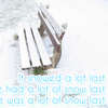 【英語】「雪がたくさん降ったね」は英語で何て言う?