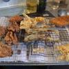 幸運な病のレシピ( 1983 )昼:トンカツ、手羽先唐揚げ、ギス天ぷら、新タマネギかき揚げ、ギス・イワシ下ごしらえ