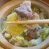 糖質制限中でも満腹!豚とキャベツのごま油鍋+〆の麺のレシピ公開