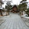 冬から春への過渡期に於ける境内の景観と各種美化作業