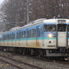 115系新潟車L99編成 しなの鉄道・えちごトキめき鉄道 訓練のための試運転(11/29)
