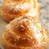 帽子型の渦巻きパン