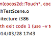 [cocos2dx][Xcode][C++] Undefined symbols for architecture i386  とか linker command failed with exit code 1 でエラー